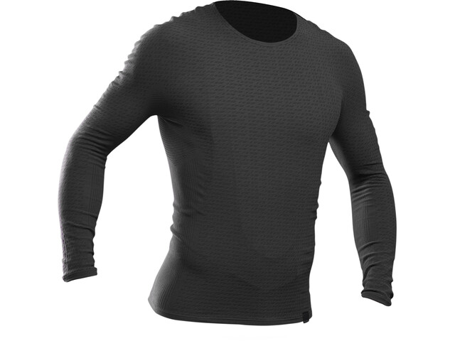 GripGrab Freedom Seamless Thermal LS Base Layer Unisex Black